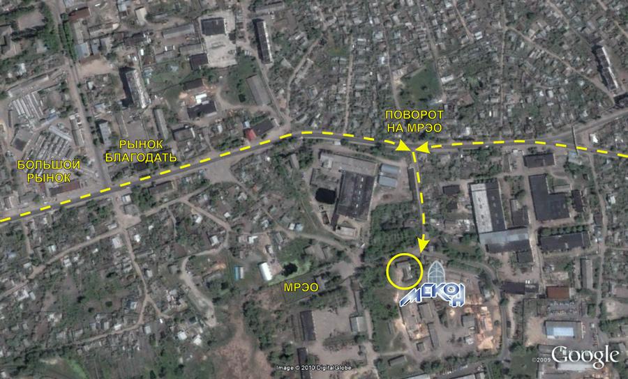 карта улиц василькова